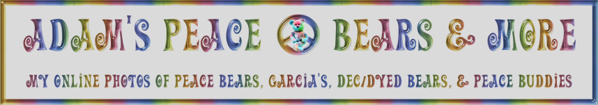 Adam's Peace Bears & More
